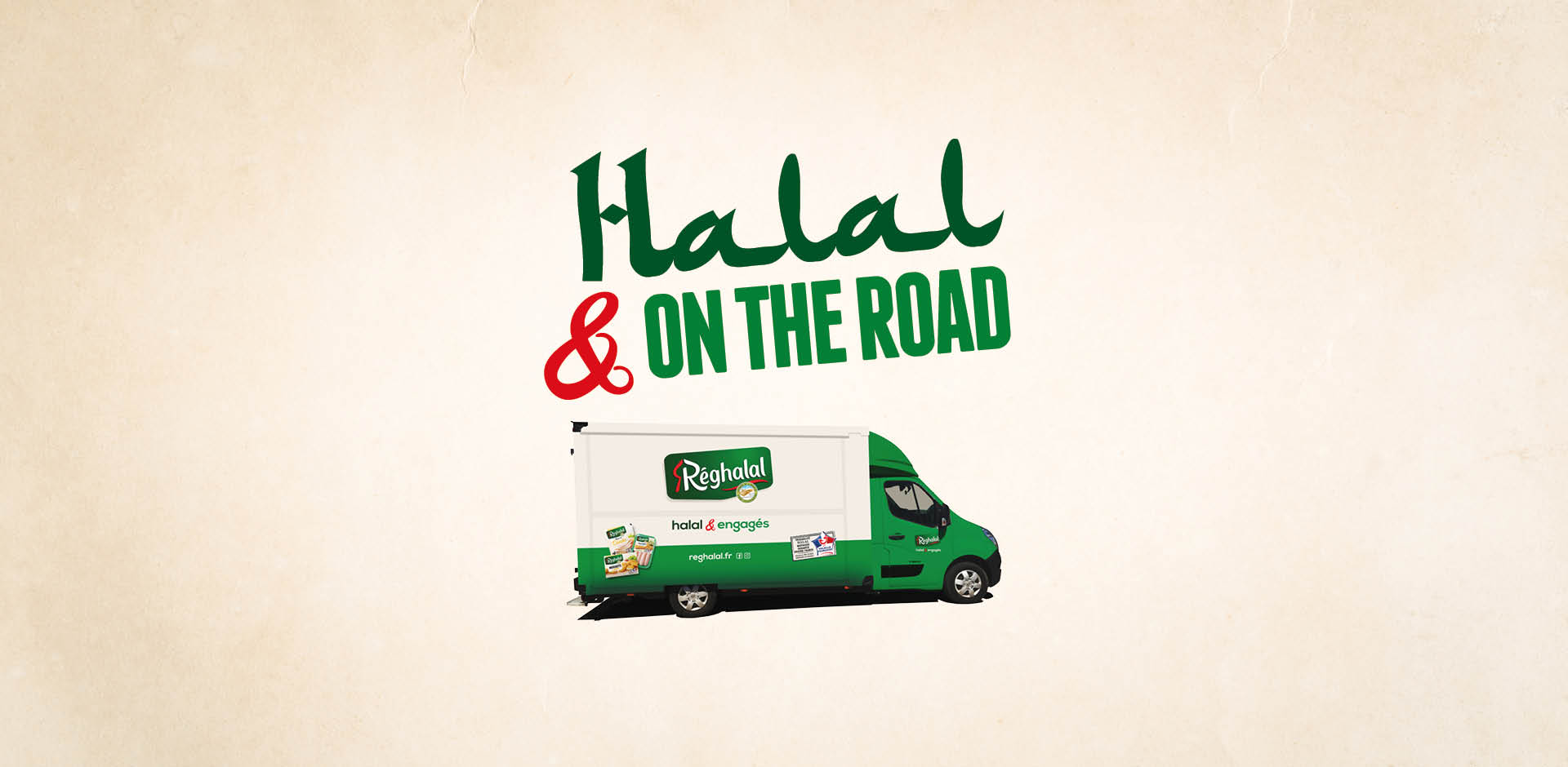 Halal on the road, reghalal