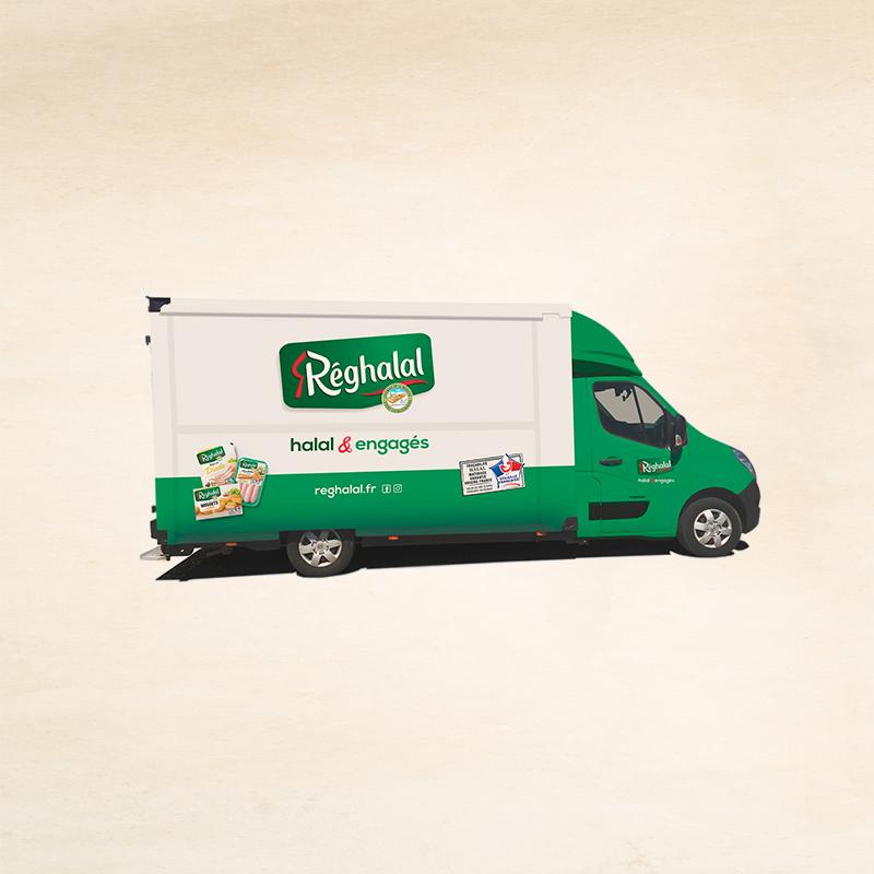 Camion food truck réghalal halal et engagés
