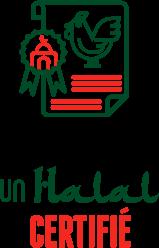 Illustration poulet d'un halal certifié