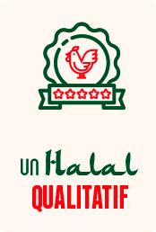 Illustration d'un poulet 5 étoiles